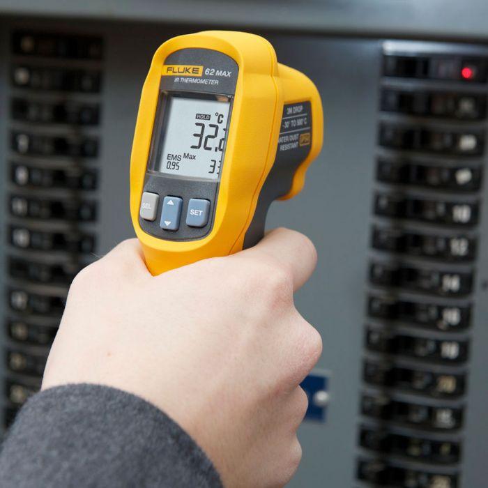 Fluke 62 MAX+ Detecta problemas de temperatura