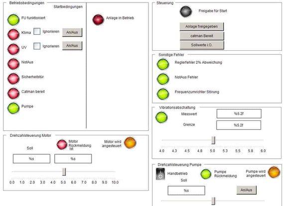 Visualización web del banco de pruebas CODESYS