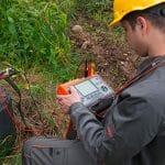 Método de medición por impulso para medir resistencia de tierra