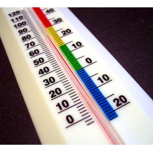 ¿Cómo afecta la temperatura a las mediciones con galgas extensiométricas?