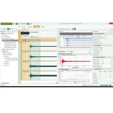 Software de espectro de respuesta de choque (SRS): Brüel & Kjaer