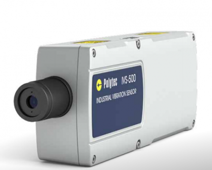 Nuevo sensor de vibración industrial IVS-500 DE POLYTEC