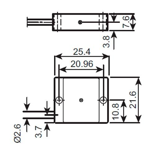 Acelerómetro con respuesta en CD 4570 Bruel & Kjaer