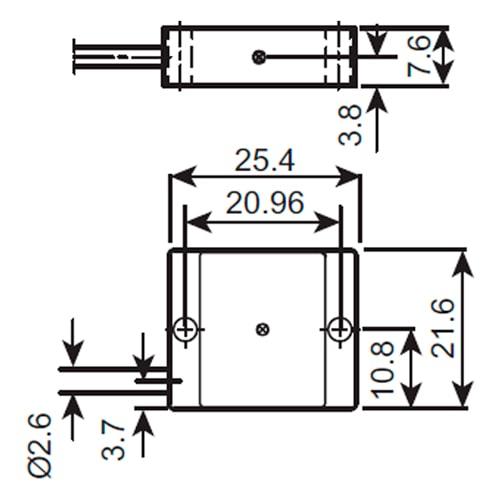 Acelerómetro con respuesta en CD 4575 Bruel & Kjaer