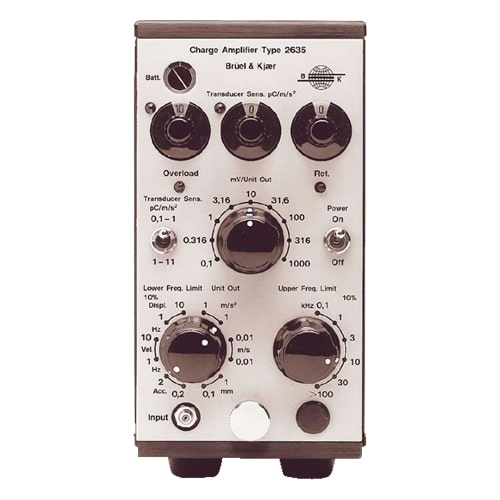 Amplificador de carga 2635 Bruel & Kjaer