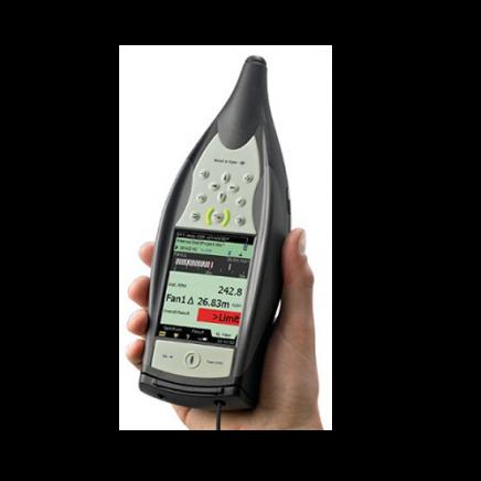 Analizador de vibraciones portátil: Vibración