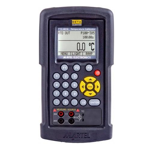 Calibrador de temperatura multifunción PTC-8010 Martel