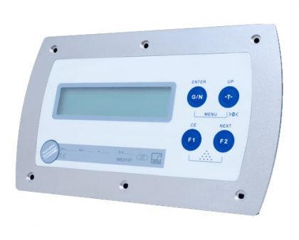 Electrónica de pesaje WE2107 HBM