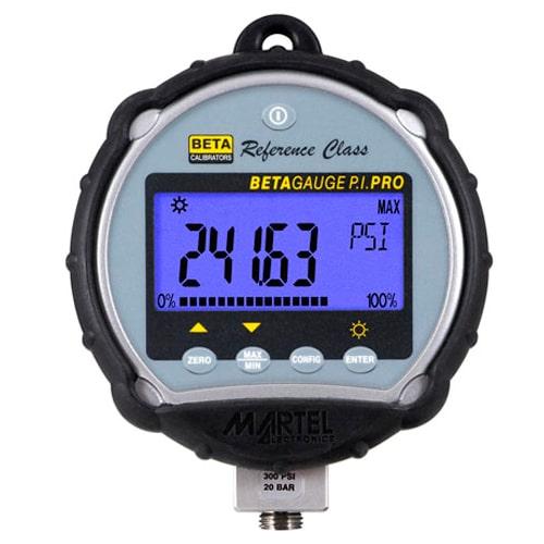 Manómetro digital de alta exactitud BetaGauge PIR PRO Martel