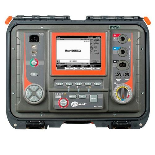Medidor de resistencia de aislamiento MIC-5050 Sonel