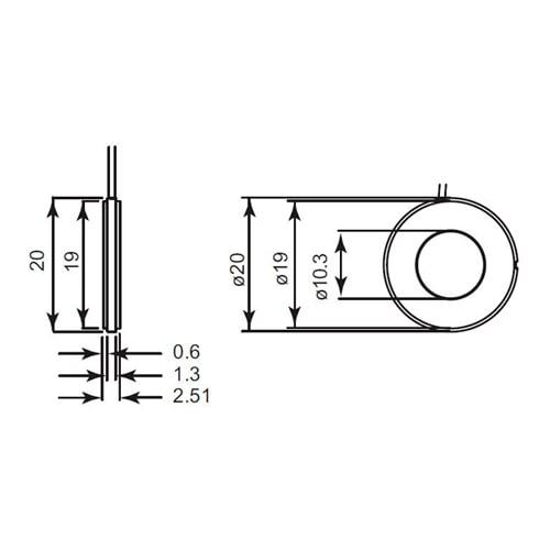 Micrófono para aplicaciones aeroespaciales 4948 Bruel & Kjaer