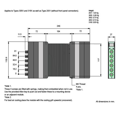 modulo-lan-xi-3053-bruel-kjaer-dimensiones