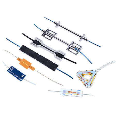 Sensores de fibra óptica: HBM