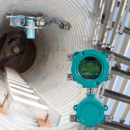 Flujómetros para gases: Flexim