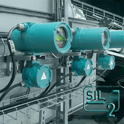 1 - Flujómetros para líquidos montaje fijo: Flexim
