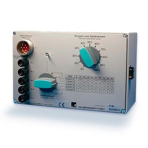K3607 Unidad de Calibración HBM