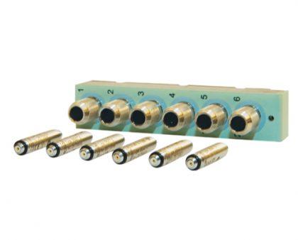 panel-frontal-Lan-Xi-UA-2105-cargador-acelerometros-Bruel-Kjaer