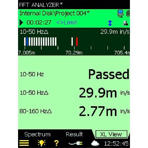 Aplicación para análisis FFT BZ-7230 Bruel & Kjaer