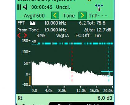 Opción de evaluación de tonos BZ-7231 Bruel & Kjaer