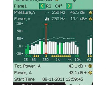 Software de intensidad de sonido BZ-7233 Bruel & Kjaer