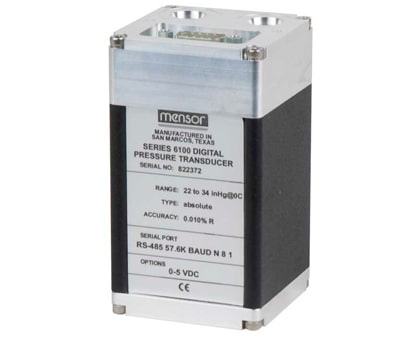 Transductores de presión digitales con salida analógica