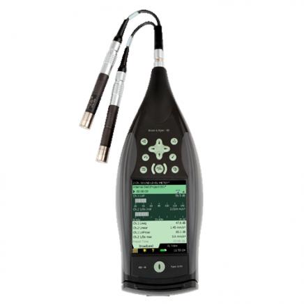 Equipos portátiles para medición de sonido y vibración: Brüel & Kjaer