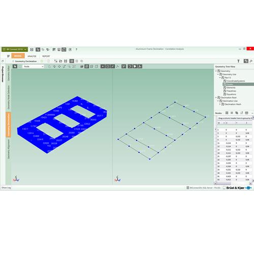 Software de medición y análisis modal: Brüel & Kjaer