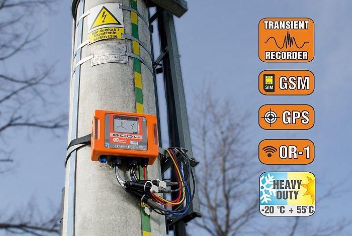 Analizador de Calidad de Energía PQM-703: Medición de Transitorios y Armónicos