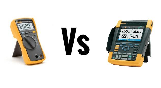 ¿Cuál es la diferencia entre un multímetro y un osciloscopio?