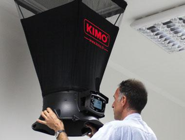 Medidor de flujo del aire DEBIMO DBM610