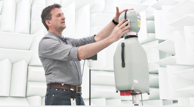 SONAH robotizada para detección de retroalimentación de auxiliares auditivos