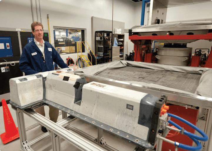 Pruebas de durabilidad de batería del auto eléctrico Chevy volt