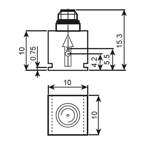 Acelerómetro 4508-001 Bruel & Kjaer