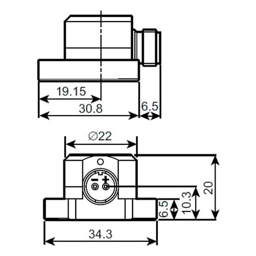 Acelerómetro piezoeléctrico 8347-C Bruel & Kjaer