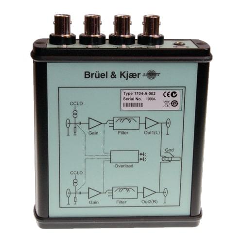 Acondicionador de señal CCLD 1704-A-002 Bruel & Kjaer
