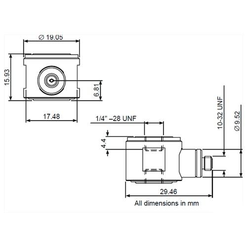 Transductor de fuerza Deltatron 8230-001 Bruel & Kjaer