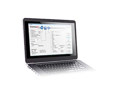 Software de Configuración ConfigXP para el Manómetro XP2i Crystal