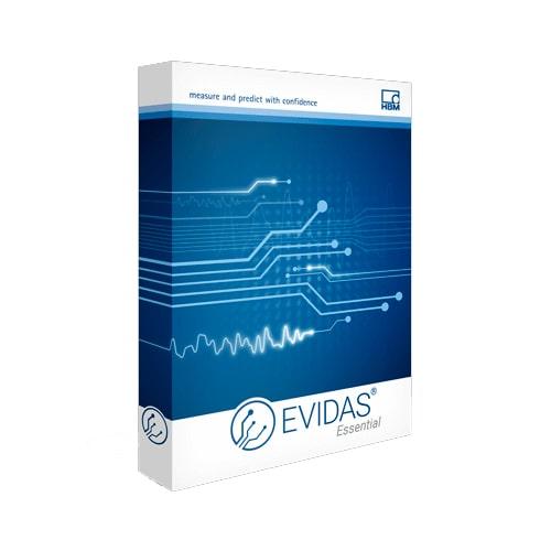 Software de adquisición de datos EVIDAS HBM 2