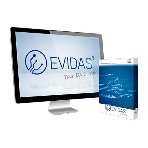 Software de adquisición de datos EVIDAS HBM