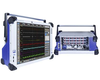 Instrumentación para pruebas de transmisión eléctricas