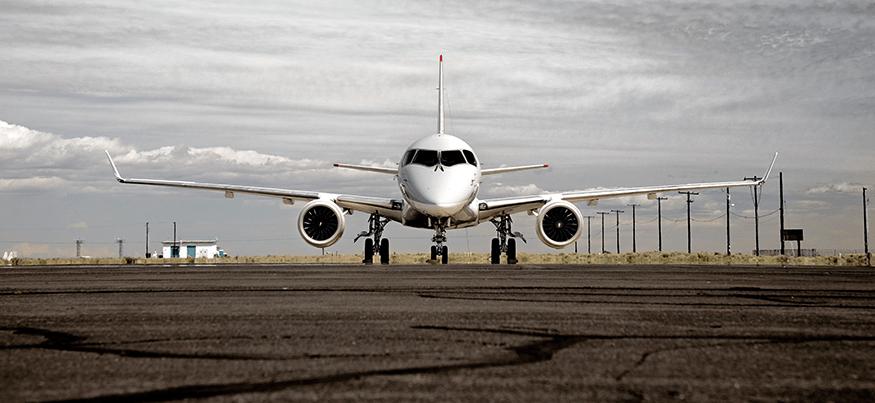 Pruebas de ruido en el Mitsubishi Regional Jet