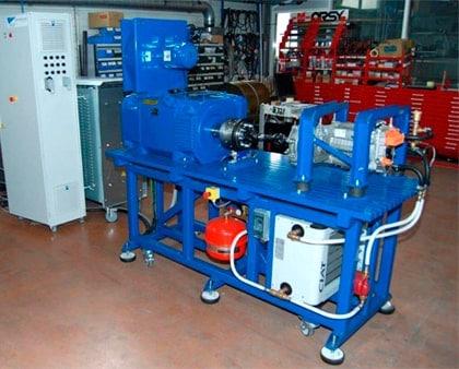 Banco de prueba para motores eléctricos