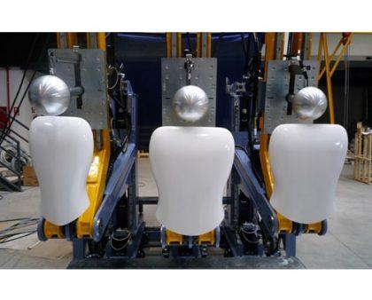 banco de prueba de eficacia de asientos
