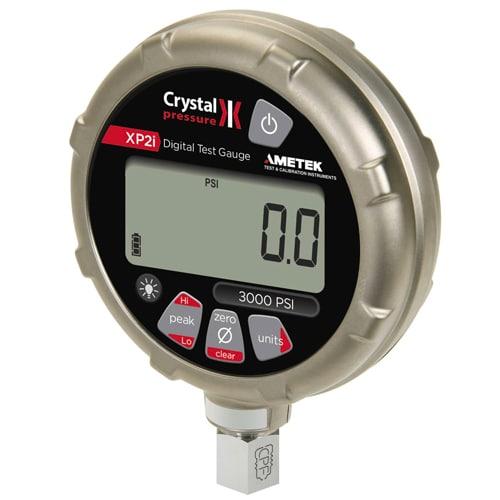 Prueba de reguladores de gas con el manómetro digital XP2i