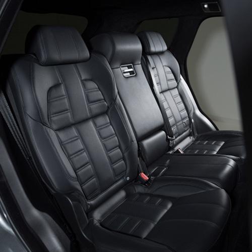 Pruebas en componentes de asientos de automóviles con HBM